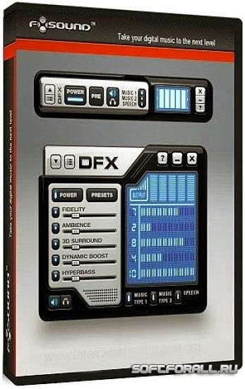 DFX Audio Enhanced Gold v12.011 PC Full Cover Caratula
