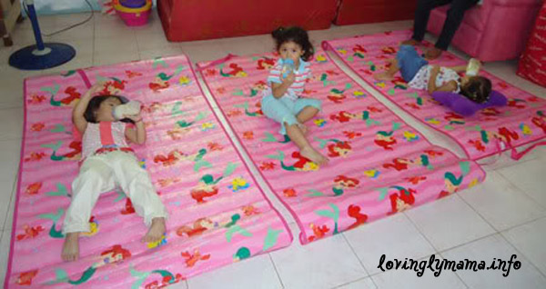 Disney princess mats - triplets