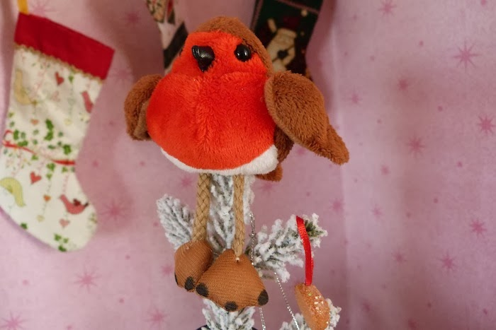 an image of robin christmas decoration
