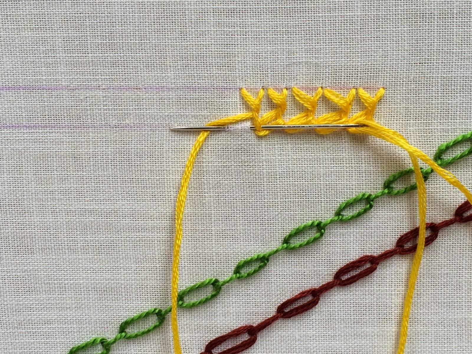 Take a Stitch Tuesday TAST Bonnet Stitch