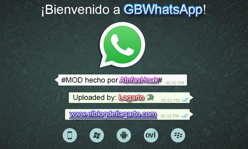 GBWhatsapp 6.10 Nueva base