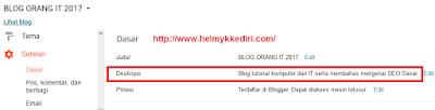 Perbedaan 2 Pengaturan Deskripsi Diblogger1