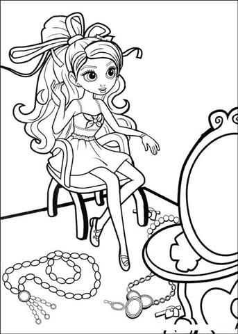 Barbie Thumbelina Coloring Pages | Fantasy Coloring Pages