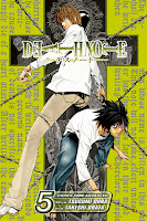 The fifth volume of the Death Note manga.