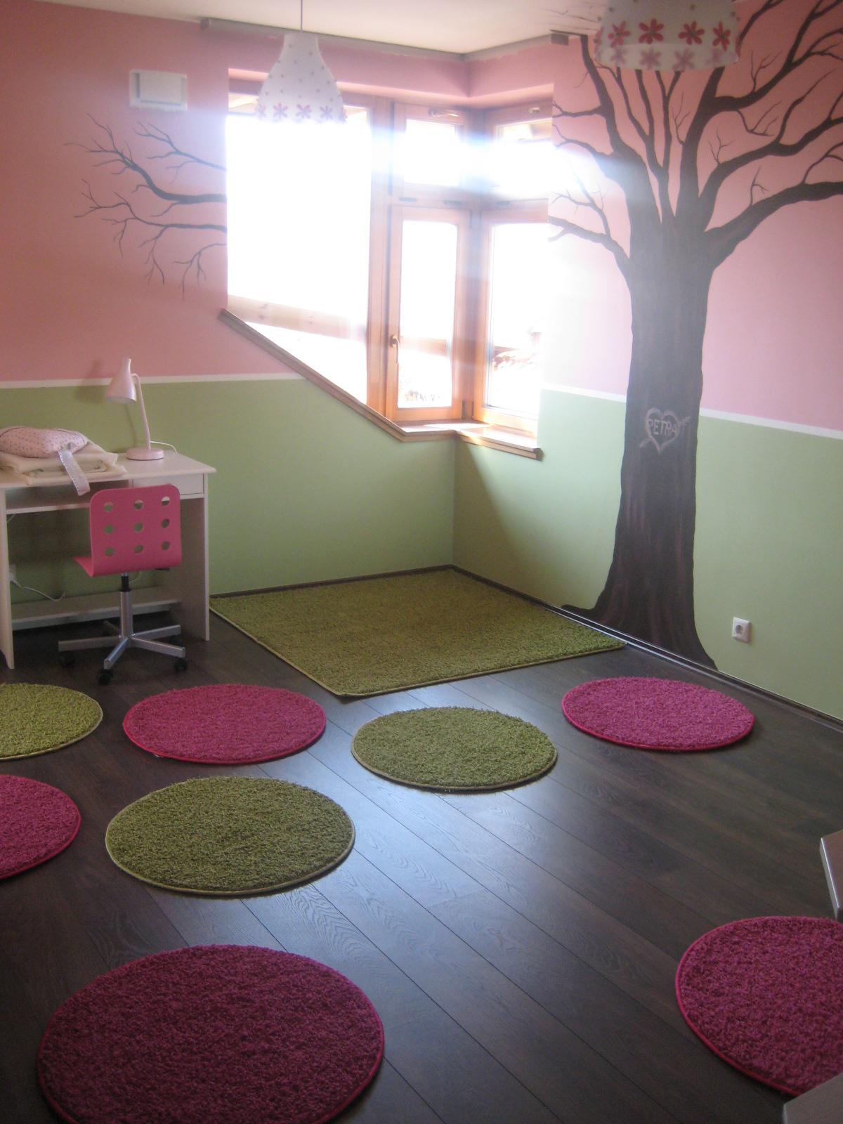 HangulatHáz  nem csak rózsaszín kislány szoba 85e07bf651