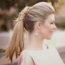 Pretty Ponytail Twist Hair}
