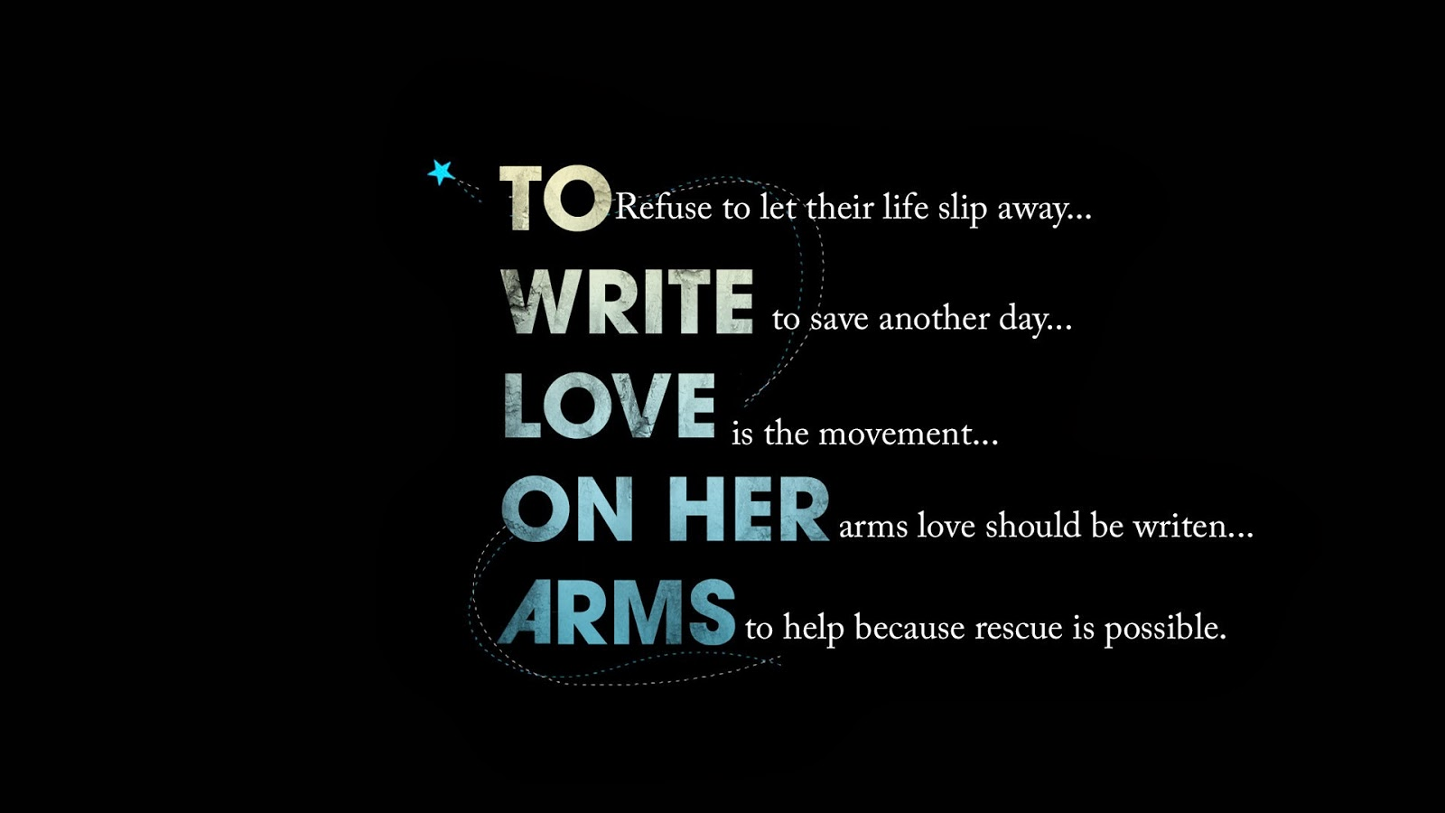 Quotes About Love black background image Hight resolution