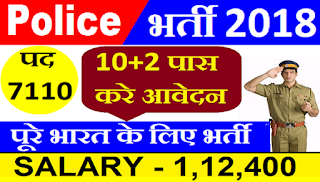 HSSC Recruitment 2018 - Apply Online For 7110 Constable, Sub Inspector Post