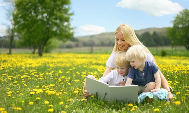 Spring book recommendations for kids age 2-7