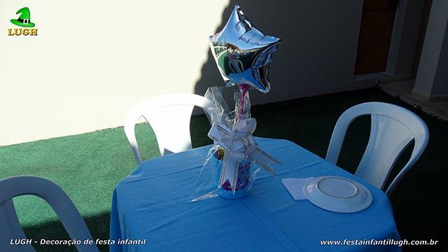 Enfeites de centro de mesas das Princesas Disney