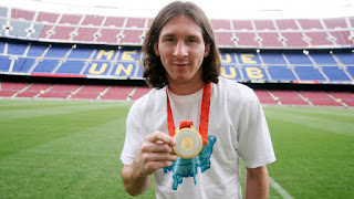 Messi won Olympic Gold Medal.