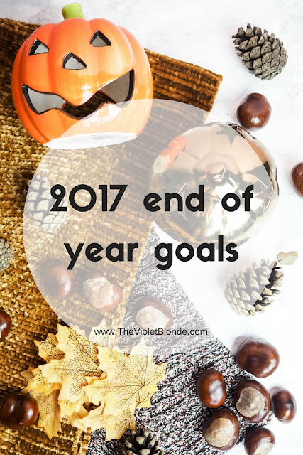 2017 end of year goals