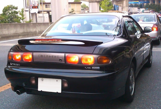 Mitsubishi Emeraude, ciekawe samochody, mało znane, unikalne, V6 MIVEC, full-time 4WD