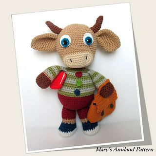 http://www.ravelry.com/patterns/library/charley-bull-cow-the-ami