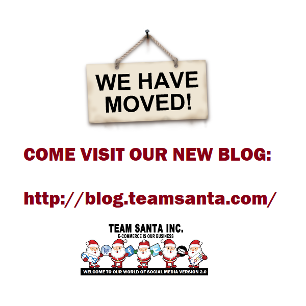 Come visit our new blog located at blog.teamsanta.com