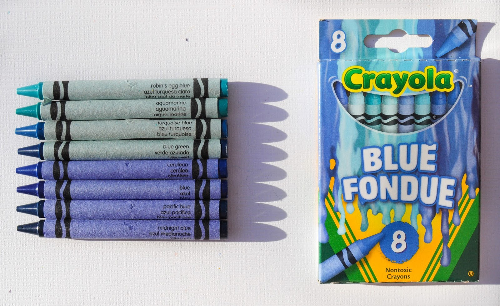 8 count crayola meltdown crayons what s inside the box jenny s