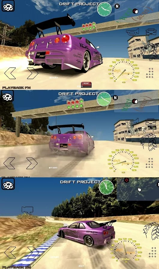 GTA SA ANDROID DRIFT PROJECT MOD PACK DOWNLOAD