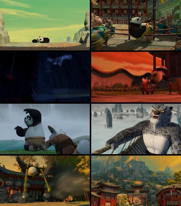 Kung Fu Panda 2008 Dual Audio Hindi 480p BluRay 300mb