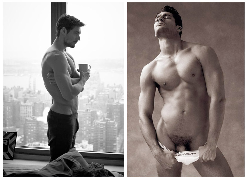 David gandy naked situation familiar