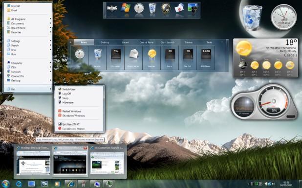 WinsTep deixe seu Windows mais bonito
