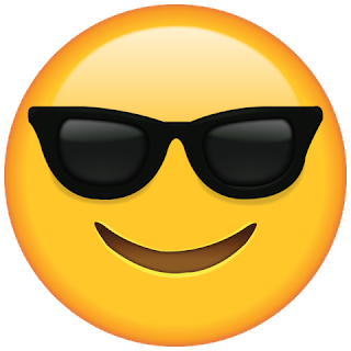 WhatsApp Sunglasses Emoji