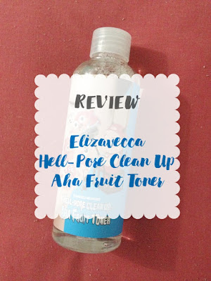 Elizavecca Hell Pore Clean Up Aha Bha Fruit Toner