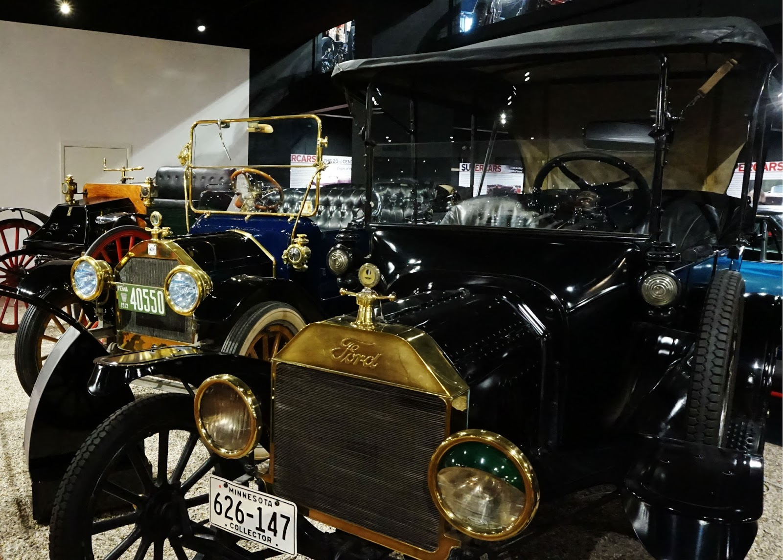 classic car ford model T black nostalgic gold haynes motor museum