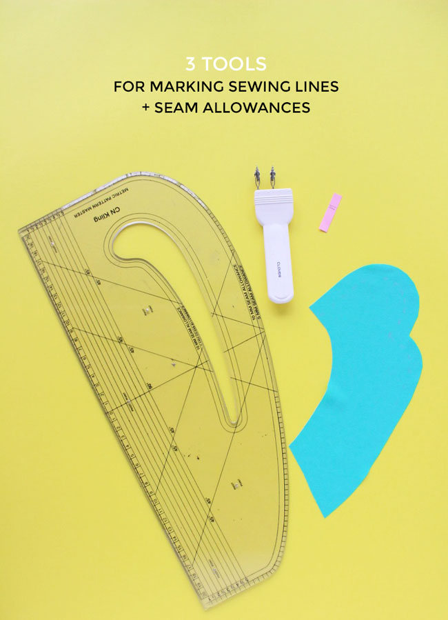 Tools for marking sewing lines and seam allowances - Tilly and the Buttons