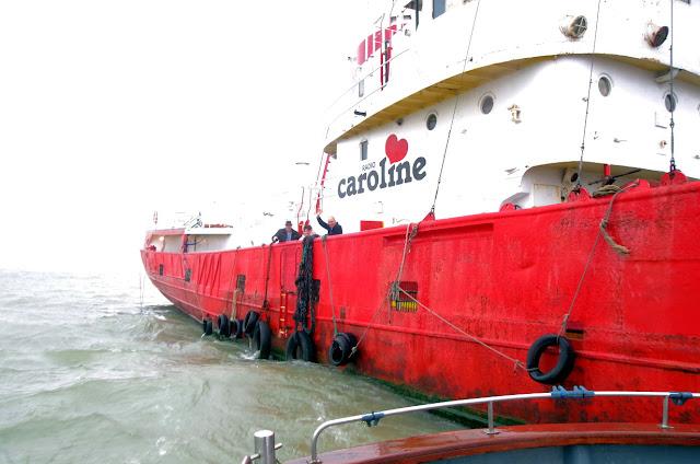 Radio Caroline, Ross Revenge, boat trip