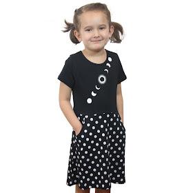 Solar Eclipse Kids Dress