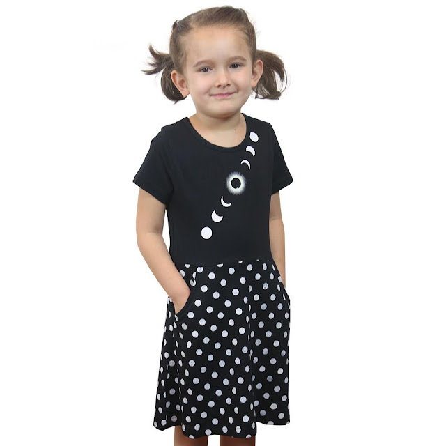 Solar Eclipse Kids Dress