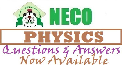 2017 NECO Physics Answers & Questions Free Expo OBJ/Theory