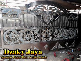 Pagar Besi Tempa Mewah Tangerang