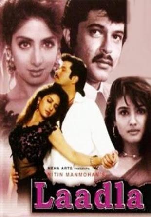Watch Online Bollywood Movie Laadla 1994 300MB HDRip 480P Full Hindi Film Free Download At WorldFree4u.Com