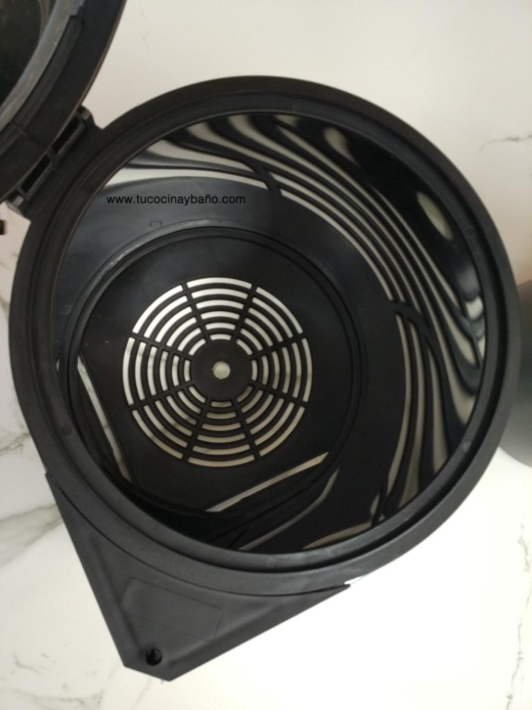 cubo basura cocina apertura automatica puerta