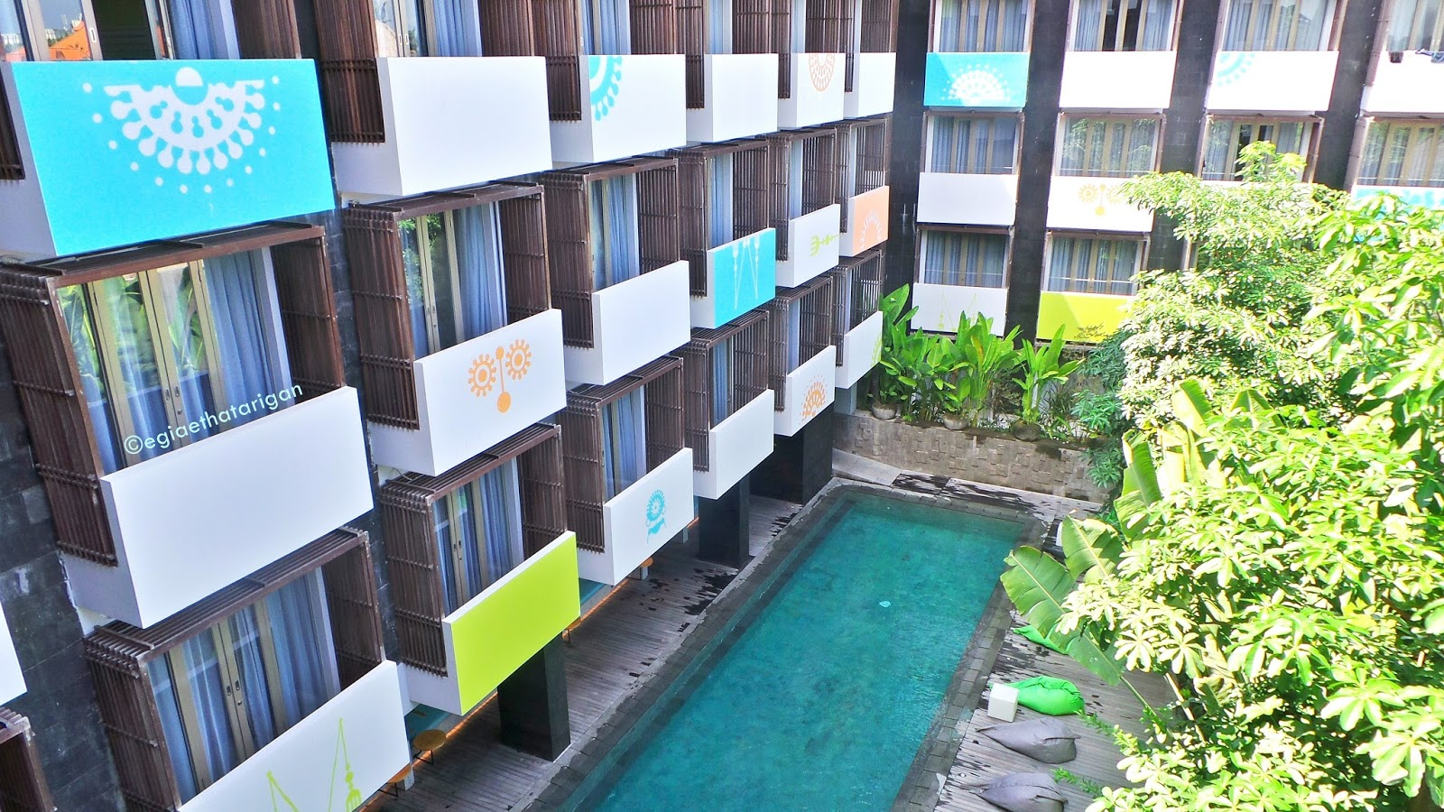 You would accept a adept fourth dimension during staycation at this Hotel BeachesinBali; TIJILI HOTEL SEMINYAK : TOO MANY CUTE SPOT FOR INSTAGRAM PHOTO