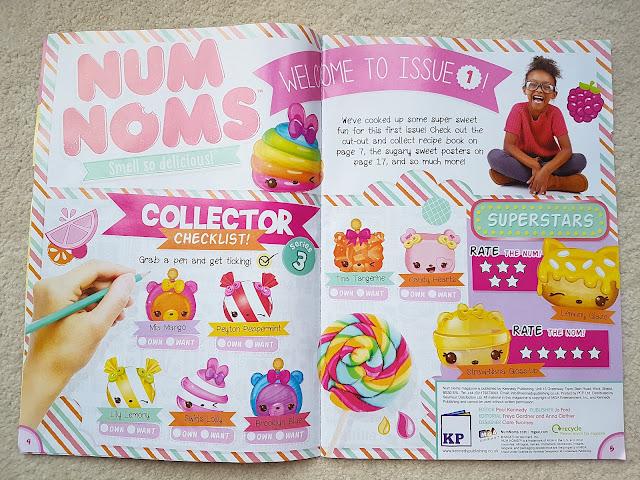 Num Noms series 4, Num Noms Lights series 2.1, scented collectibles