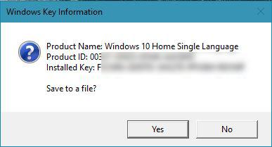 cara melihat product key windows 10 di cd