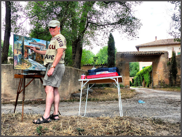 HOSTALETS DE BALENYÀ-PINTURA-PINTANT-MASIES-FOTOS-QUADRES-ARTISTA-PINTOR-ERNEST DESCALS-