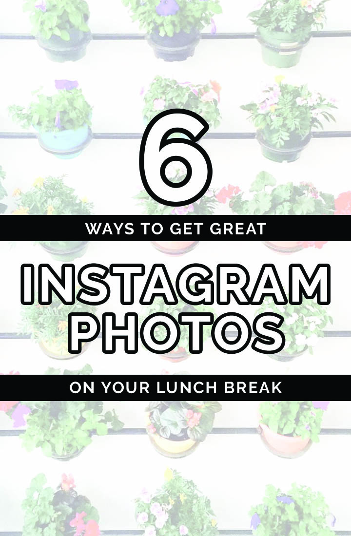 How to Get Great Instagram Photos