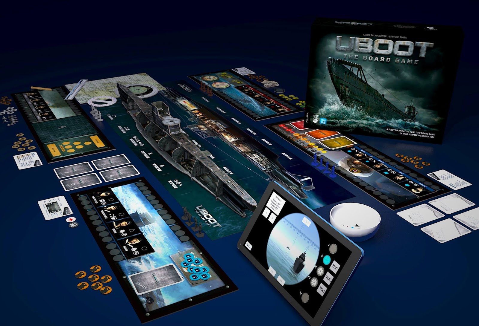 UBOOT the board game Phalanx games