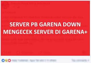 Ini Penyebab dan Solusi PB Garena Mengecek Server di Messenger Plus (Garena+)