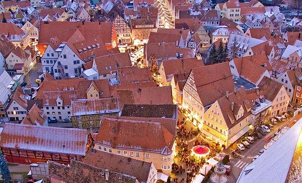 Mercadillo de Navidad (Nördlingen, Alemania)