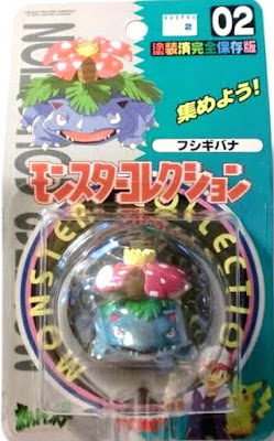 Venusaur Pokemon figure Tomy Monster Collection series