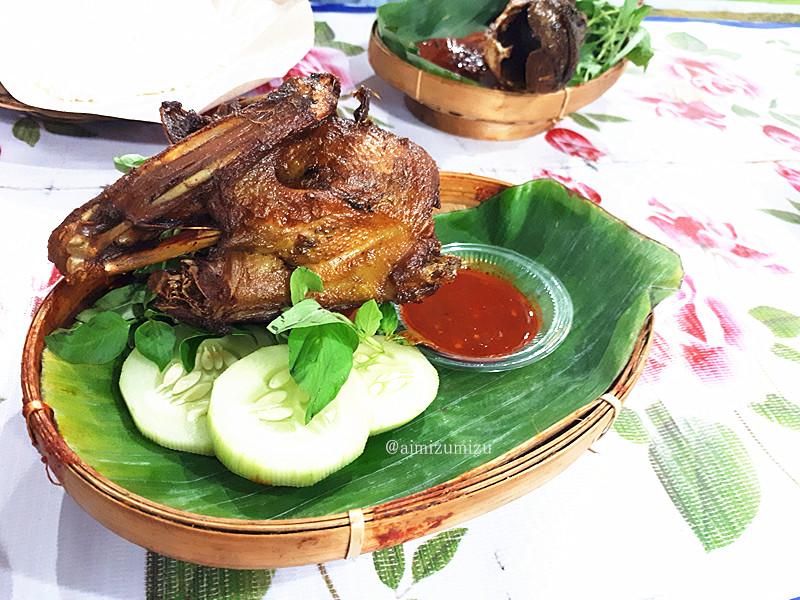 Pecel bebek khas Yogyakarta