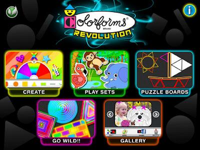 Colorforms Revolution App Screen 1