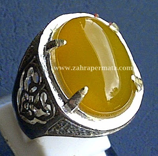 Batu Permata Yellow Chalcedony - ZP 378