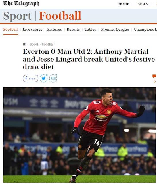 """MU hạ Everton: Báo chí Anh mừng như """"bắt được vàng"""", khen Mourinho hết lời 4"""