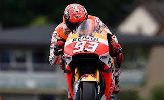 Marquez Tercepat Pertama FP3 MotoGP Jerman