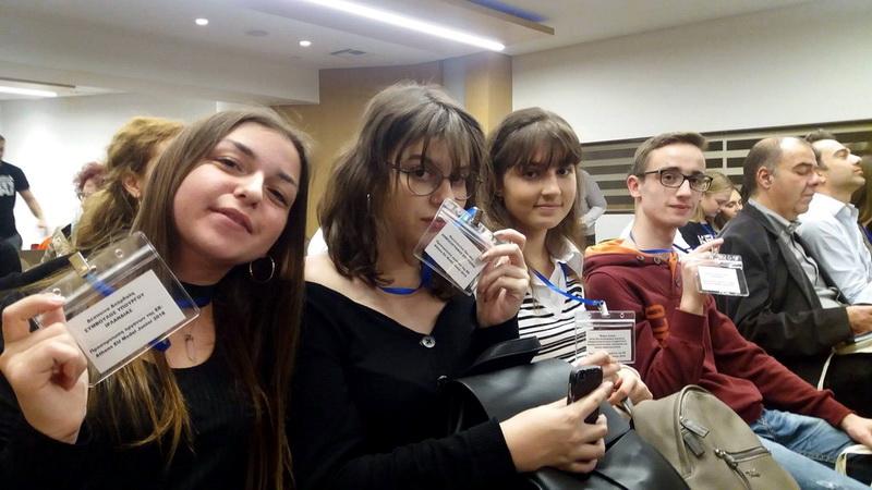 Μαθητές του Λυκείου Τυχερού στην προσομοίωση οργάνων της Ευρωπαϊκής Ένωσης